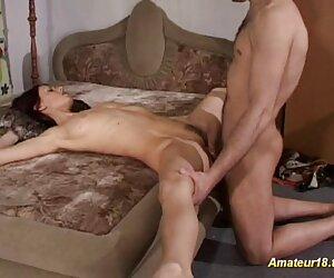 Pirang kotoran di pantat, seks yang paling hot dua orang