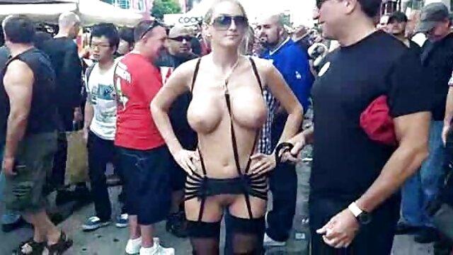 Tembaga semprot di seks hot bule wajah Gadis oleh Super